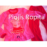2x1 Sets Remera Pant Pijam Peppa Minnie Doctora Juguetes Etc