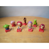 7 Figuras Toy Story Huevo Tipo Kinder Buzz Lotso Rex Dy64