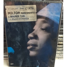 Dvd Milton Nascimento & Wagner Tiso Live Nuevo
