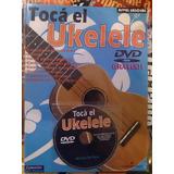 Libro Aprende A Tocar El Ukelele Con Dvd - Los Chiquibum
