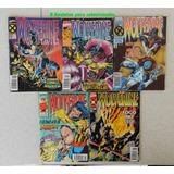 5 Revistas Para Coleção Quadrihos Marvel Comics