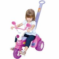 Triciclo Baby Music Com Porta Acessórios E Som - Cotiplás