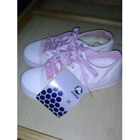 Zapato Crocs Para Niña Talla 34, Color Gold/bgm