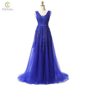 Vestido De Festa Casamento, Formatura Azul Royal