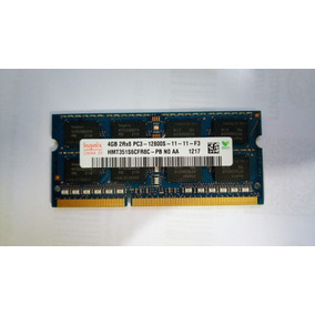 Memória Hynix 4gb 2rx8 Pc3-12800s Ddr3 11-11-f3 Notebook Nv