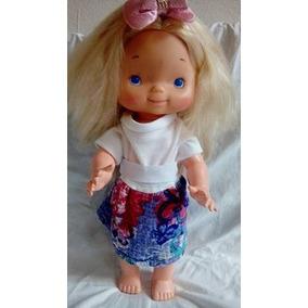Antiga Boneca Ana Maria Da Pullman Estrela Anos 80