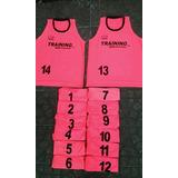 Petos Training 15 En Total A $6.000 C/u .rosados Fluor
