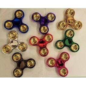 Spinner Fidget Metalizados Detal Y Mayor