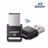 Ugreen Us192 Adaptador Receptor Bluetooth V4.0 Usb Negro