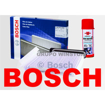 Filtro Ar Condicionado Bosch + Higienizador Livina Tiida