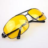 Óculos Vision Dirigir À Noite Lente Amarela Unissex