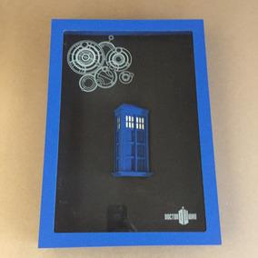Quadro 3d Da Tardis Doctor Who