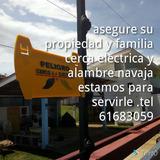 Cercas Eléctricas Y Alambre Navaja.