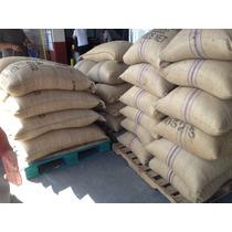 12 Kilos Cafe En Grano Verde Para Tostar Tipo Prima Lavado
