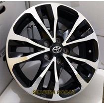 Jogo Rodas Toyota Corolla Xrs 2018 Aro 16 +porcas+bicos