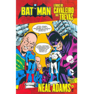 Batman Lendas Do Cavaleiro Das Trevas Neal Adams 1 Dc Comics
