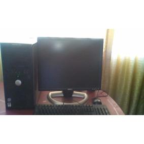 Computadora Completa Usada C2d 2gb 250gb+monito19 Tec, Mou
