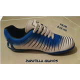 Zapatillas Guayos Azules-blanco
