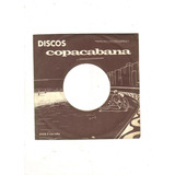 Lp Compacto Jorge Veiga - Deixa Comigo, Se Me Der Adeus 1969