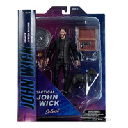 Figura Acción John Wick Tactical - Marvel Select - Diamond