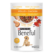 Alimento Beneful Perro Cachorro Pollo Arroz Verduras 100 Gr.
