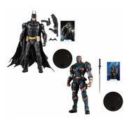 Batman Arkham Knight & Deathstroke Dc Multiverse Mcfarlane
