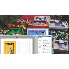 40 Caixas Mini Confeiteiro Páscoa - Arquivo Digital De Corte