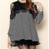 Mei Fashion / Mini Vestido Otoño-invierno / Moda Coreana