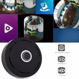 Cámara Wifi 1080p 360° Panorámica Hd Android/ios Ojo De Pez