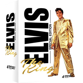 Elvis Presley - Elvis The King - Box Com 4 Dvds - Special Ed