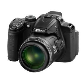 Câmera/ Maquina Digital Nikon Coolpix P520 Black