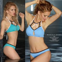Conjunto Malla Bikini Marcela Koury Tasa Soft Vedetina 3321