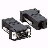 Conector Adaptador Vga Macho X Rj45 Para Cabo De Rede