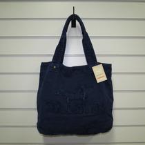 Bolsa Hollister Feminina Estilo Sacola Modelos Azul Escuro