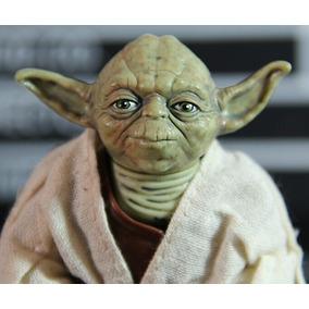 Boneco Mestre Yoda Star Wars Em Pvc
