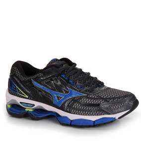 Tênis Running Masculino Mizuno Wave Creation 19 - Chumbo