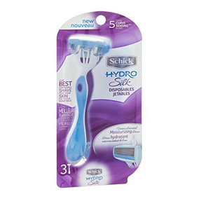Schick Hydro Silk Disposable Razors For Women, 3 Count (pack