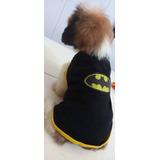 Roupa Fantasia Para Cachorros E Gatos Batman Bull Terrier