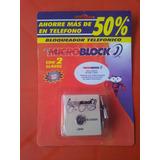 Bloqueador Telefónico Todo Número Marca Microbloq