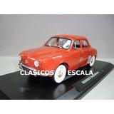 Renault Dauphine 1958 - Clasico Argentino Bordo - Norev 1/18