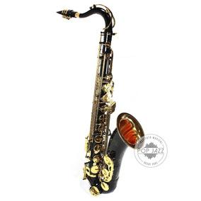 Sax Tenor Preto Laqueado Jahnke Jsth001 - Frete Grátis