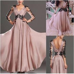 Hermoso Vestido Color Palo De Rosa Solo Xl
