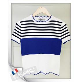 T Shirt Feminina Zara - Calçados, Roupas e Bolsas no Mercado Livre ... 3f2f889b690