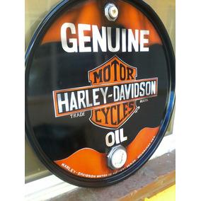 Tapa D Un Tambo D Aceite Harley Davidson