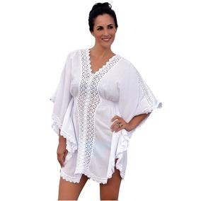 Vestidos Casuales - Salida Playa De Algodón Modelo (carmen)