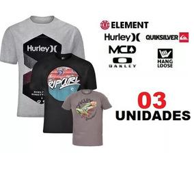 Quiksilver Original - Camisas Masculinas no Mercado Livre Brasil a5f50413615