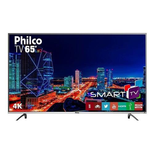 """Smart TV Philco PTV65F60DSWN LED 4K 65"""" 110V/220V"""