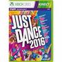 2 Jogos Xbox360 Just Dance 2016 + Kinect Sports 2 Novos