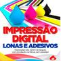 Lona Brilho 440g - Fachadas - Impressão Digital