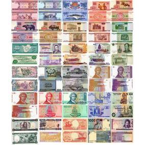 Super Oferta! 60 Billetes + 8 Monedas (todos Diferentes S/c)